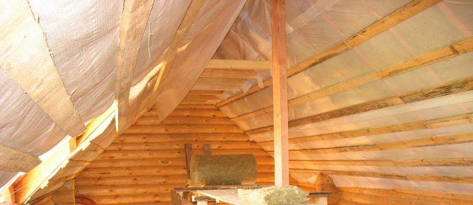 Утепление крыши дома изнутри: материалы и расценки