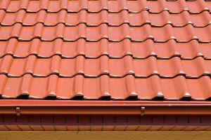 Односкатная крыша из металлочерепицы
