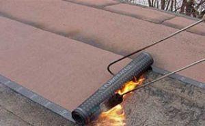 Покрытие крыши бикростом