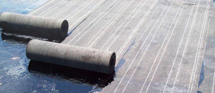 Укладка рубероида на крышу