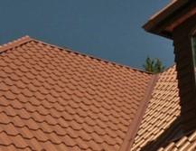 Ендова на крыше из металлочерепицы