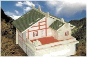 Постройка флигеля на плоской крыше