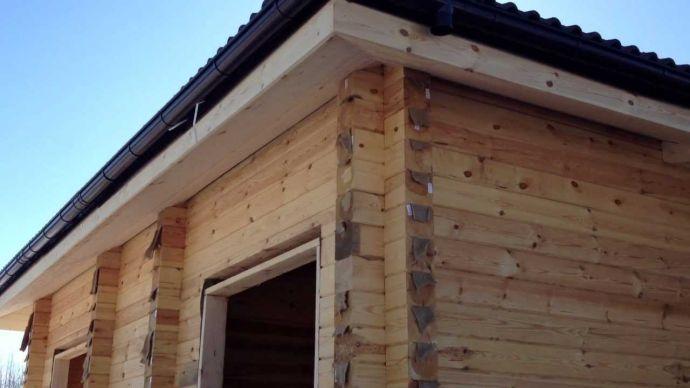 Пример карниза крыши