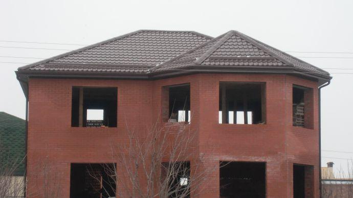 Пример вальмовой крыши
