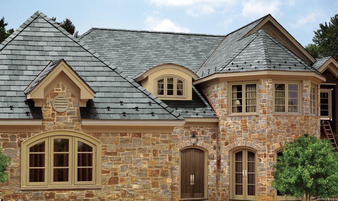 Пример крыши частного дома