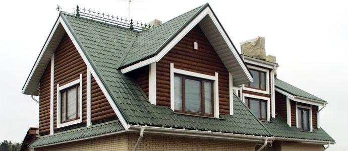 фото многощипцовых крыш частных домов