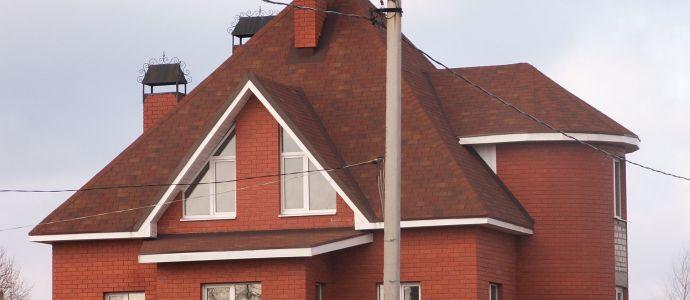 Крыша фламенко шинглас