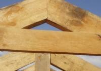 Ломаная крыша стропильная система