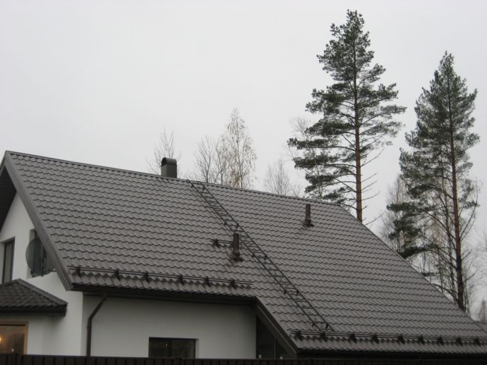 Вид частного дома