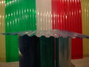 Пластиковый цветной шифер