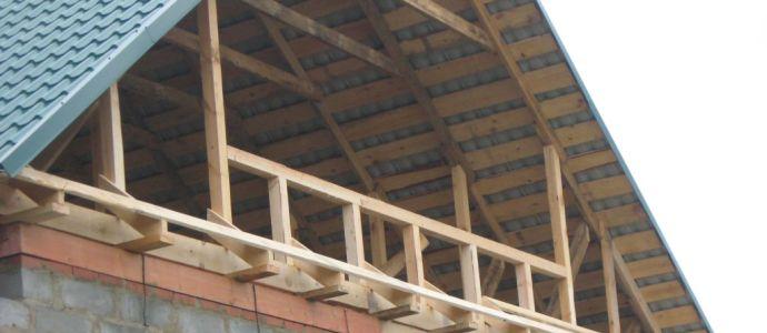 Как сделать крышу дома фото