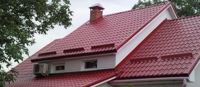 дома фото крыши
