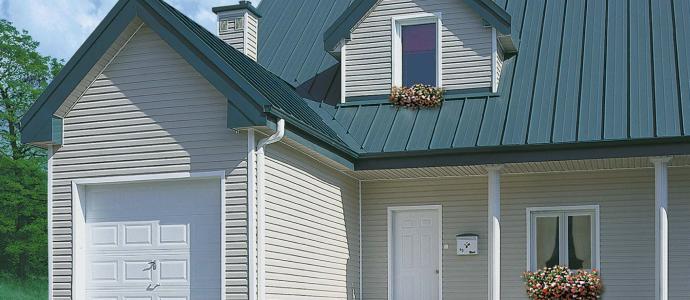стоимость работы покрытия крыши профнастилом