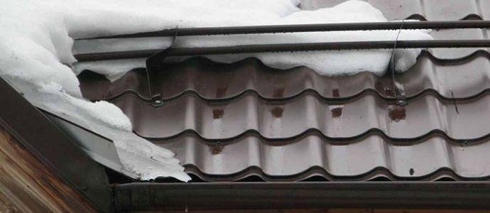 цена снегозадержателя на крышу