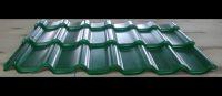 Металлочерепица зеленого цвета