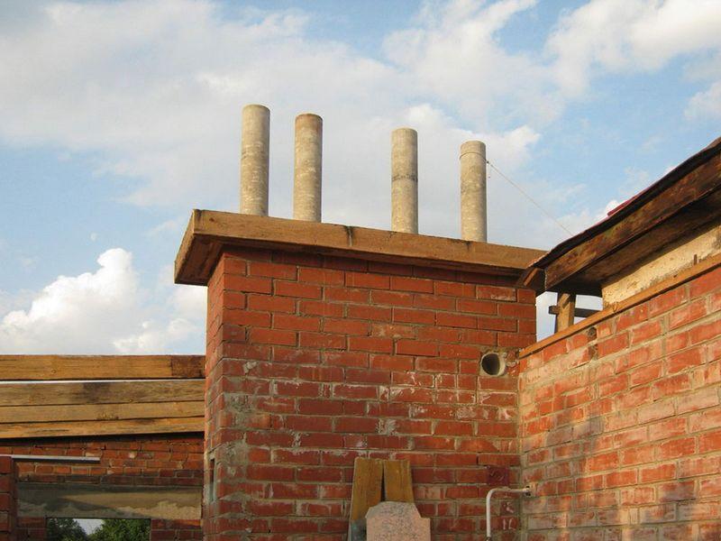 Изготовление асбестоцементных труб для дымоходов как правильно чистить дымоход кирпичной печи