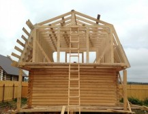 ломаная двускатная крыша