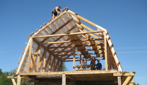 Постройка дома и крыши своими руками 77