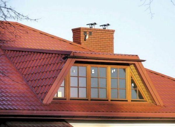 Как сделать балкон на мансардной крыше 408