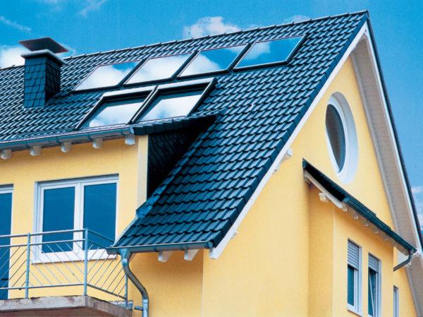 Цвета металлочерепицы для крыши