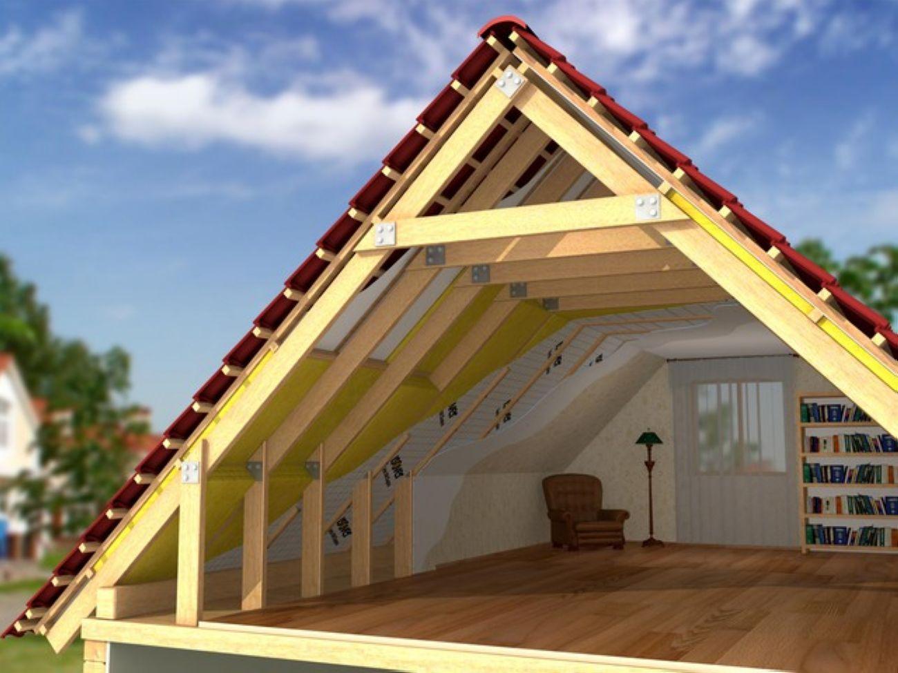 Как сделать крышу без 442