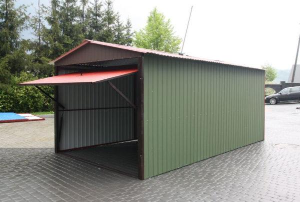 Размеры гаража для трактора