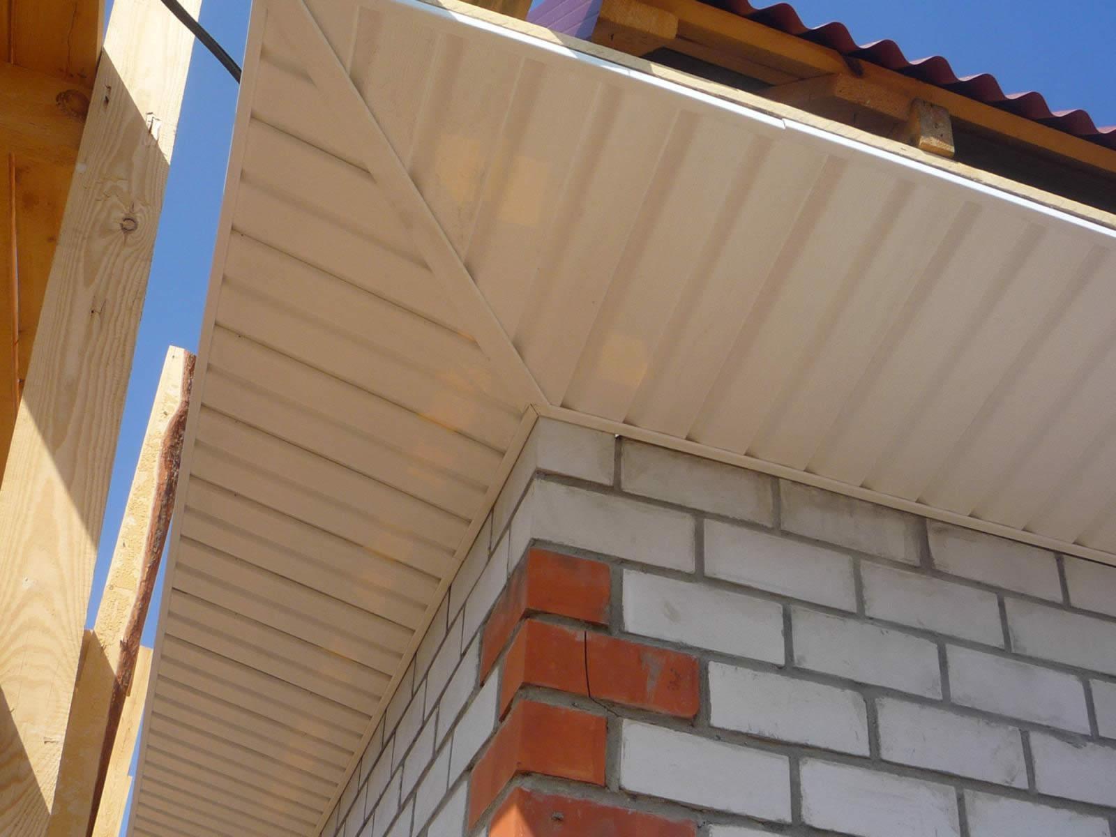 Отделка карниза крыши: как и чем отделать своими руками