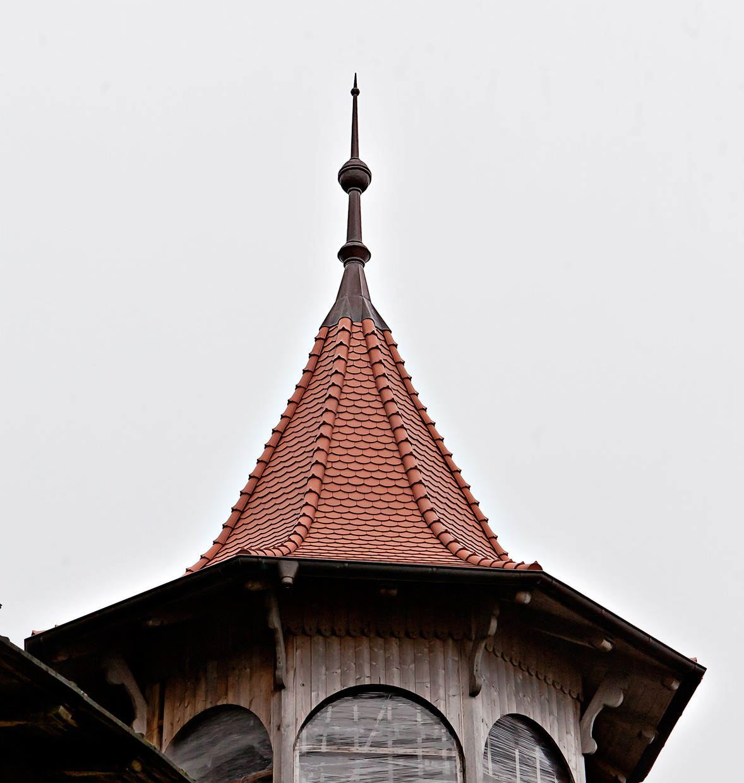 Оригинальная кровля и дизайнерские крыши : Стилизация кровли коттеджа под 100