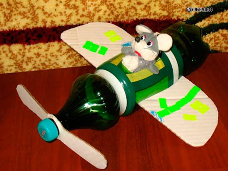 Вертолет из пластиковой бутылки своими руками 170