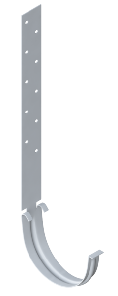 Крепление водостока к крыше