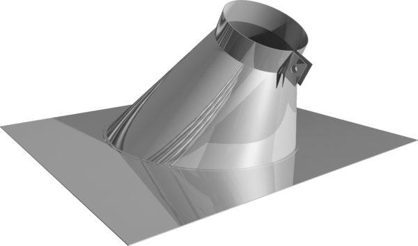Как заделать трубу на крыше