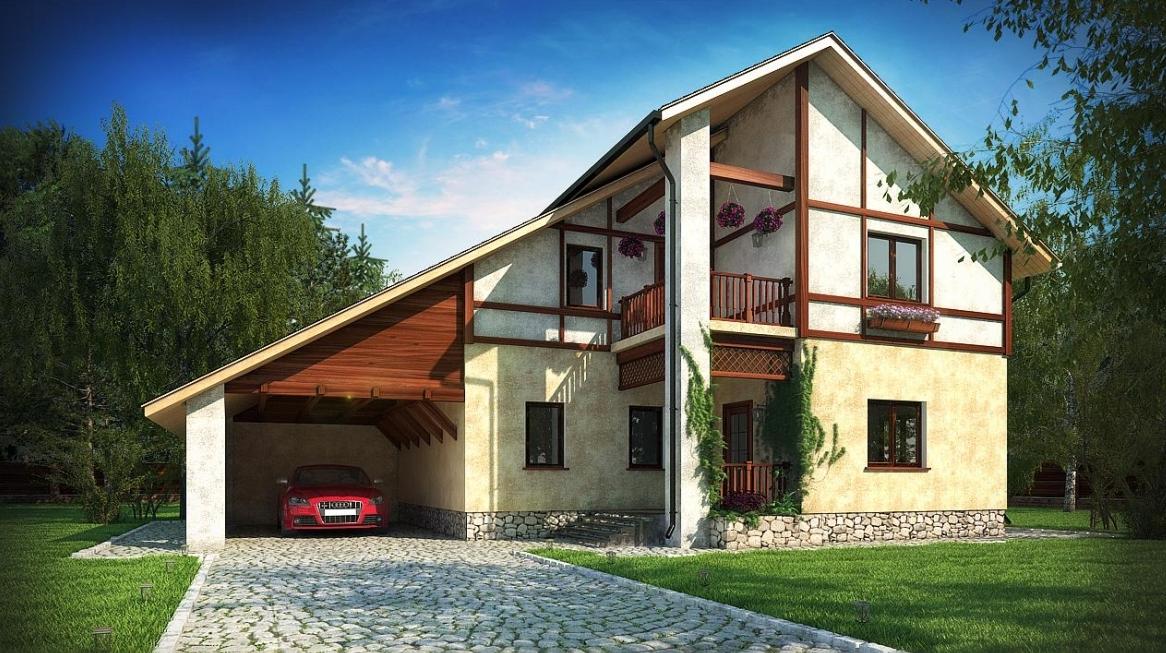 виды крыш домов фото
