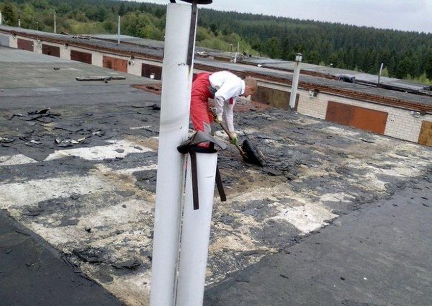 Технология ремонта мягкой кровли плоских крыш