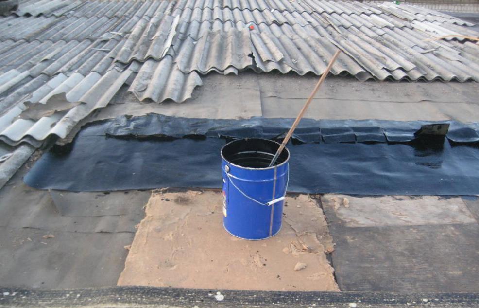 Локальный ремонт крыши гаража своими руками 88
