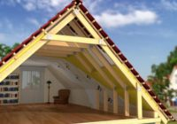 Расчет длины стропил двускатной крыши