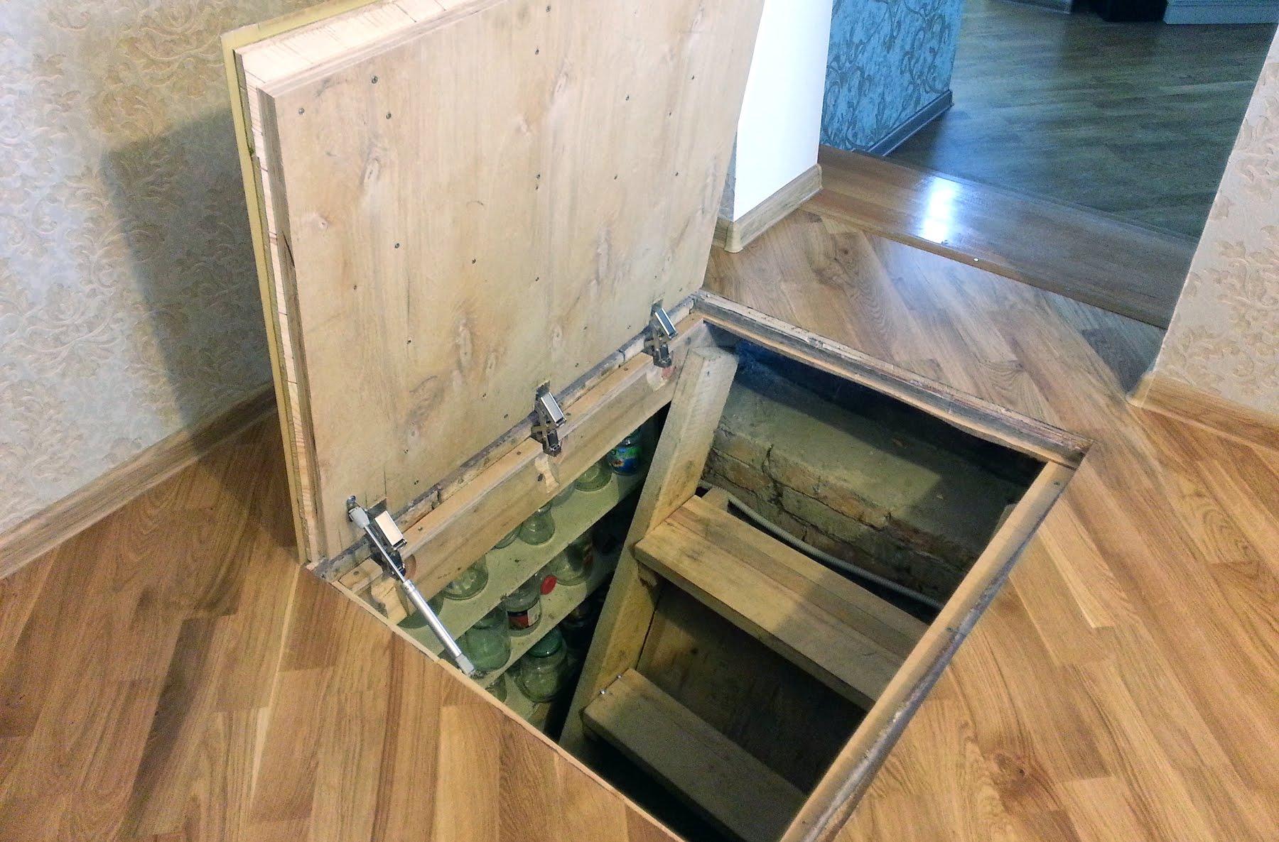 Как сделать дверь с в погреб 60