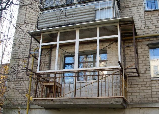 Балкон металлический своими руками 297