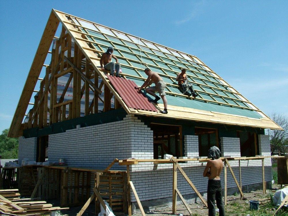 Как правильно крыть крышу шифером своими руками