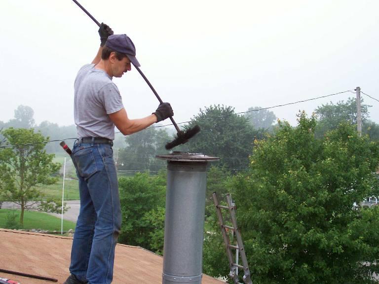 Нужно прочистить дымоход можно ли вывести дымоход на чердаке