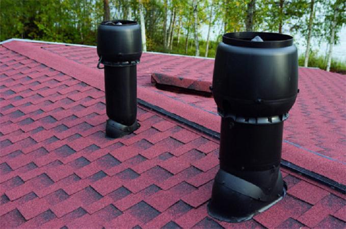Вентиляционные выходы канализационных стояков