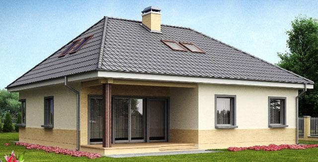 Крыша конвертом + схема
