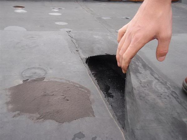 Протечка крыши что делать
